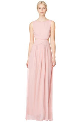 Blush Through Gown by Nicole Miller