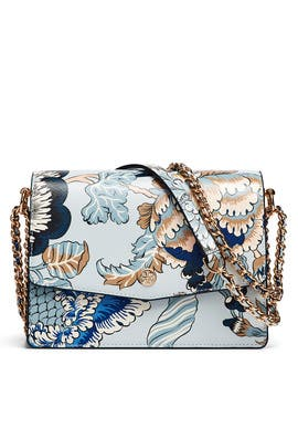 Blue Robinson Shoulder Bag by Tory Burch Accessories