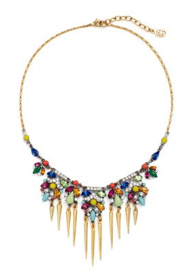 Bright Deco Spike Necklace by Ben-Amun