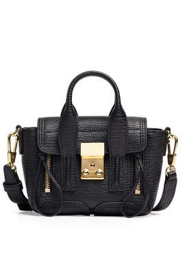 Black Pashli Nano Satchel by 3.1 Phillip Lim Accessories