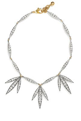 Datura Leaf Necklace by Lulu Frost