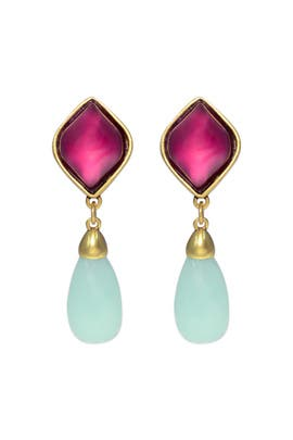 Oscar de la Renta - Music Box Drop Earrings