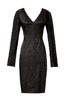 Rachel Roy - Sculpt It With Lace Sheath