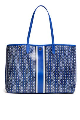 Blue Gemini Link Tote by Tory Burch Accessories