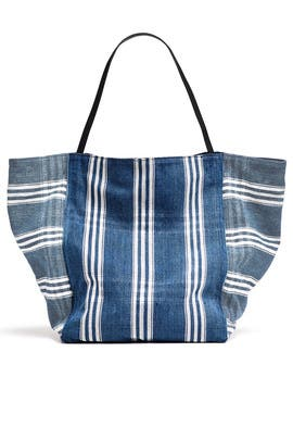 Indigo Teller Tote by Elizabeth and James Accessories