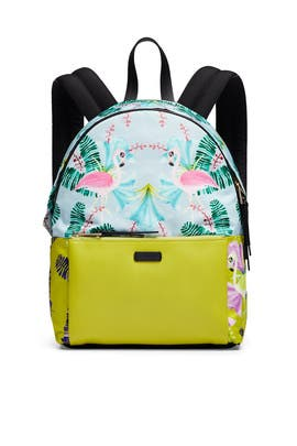 Flamingo Giudecca S Backpack by Furla