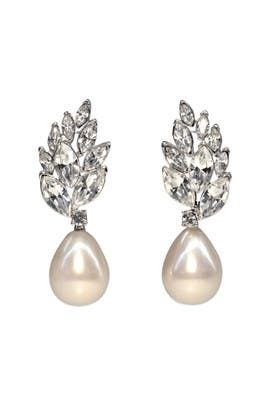 Catherine Earrings by Kenneth Jay Lane