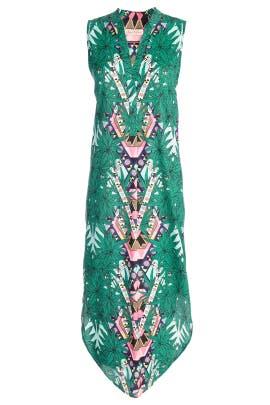 Maristar Green Dress by Mara Hoffman