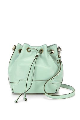 Aloe Mini Fiona Bucket Bag by Rebecca Minkoff Handbags