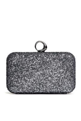 Elsa Glitter Minaudiere by Halston Heritage Handbags