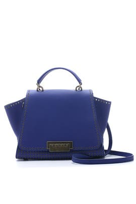 Cobalt Grommet Eartha Iconic Handbag by ZAC Zac Posen Handbags