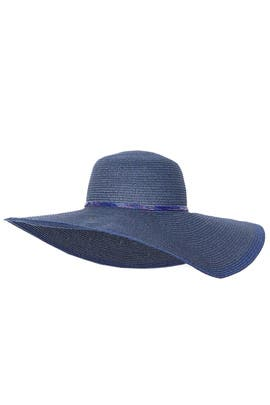 Deep Blue Floppy Hat by Echo Accessories