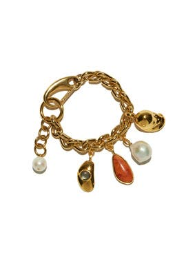 Luxe Charm Bracelet by Lizzie Fortunato