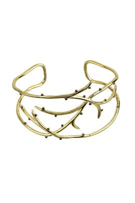 Thorn Vine Cuff by Noir Jewelry