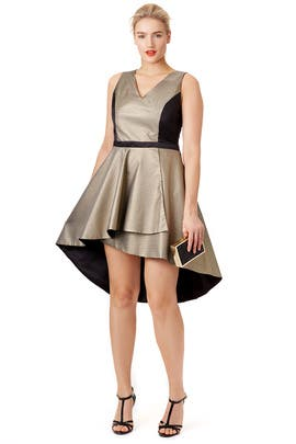 Gold Comet Dress by nha khanh