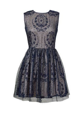 Cast Your Net Dress by RED Valentino