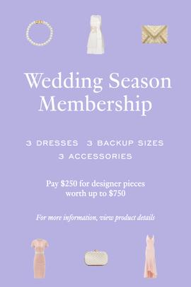 Rent the Runway - Wedding Season Membership