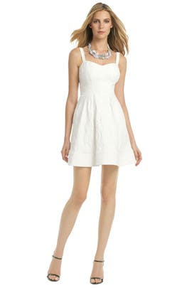 Z Spoke Zac Posen - White As Snow Dress