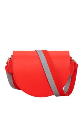 Red Striped Strap Bag by Liebeskind