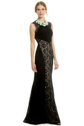 Lace Silhouette Gown by nha khanh