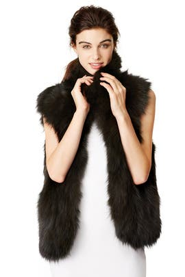Fall Luxe Vest by Adrienne Landau
