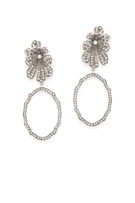 Camellia Earrings by Lulu Frost