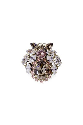 Blush Orchid Ring by Anton Heunis
