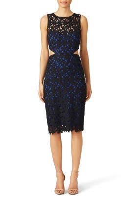 Nicole Miller - Black Venice Dress