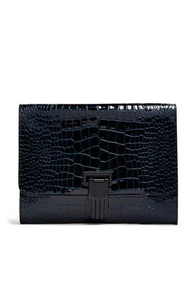 Patent Nokki Hand Clasp Clutch by Opening Ceremony Accessories
