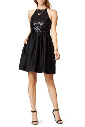 Raoul - Black Phoebe Dress