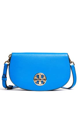 Blue Jamie Clutch by Tory Burch Accessories