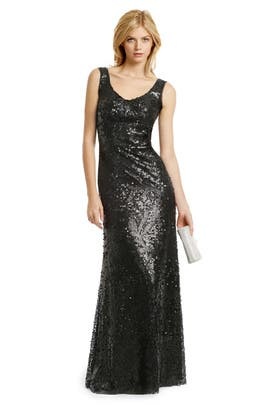 Z Spoke Zac Posen - Masquerade Sequin Gown