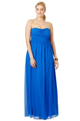 Donna Morgan - Blue Athena Gown