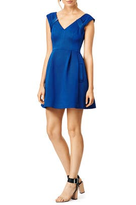 Blue Lines Dress by Nanette Lepore