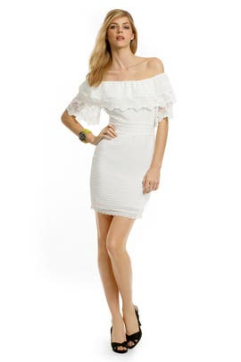 Alice by Temperley - White Lace Whispers Dress