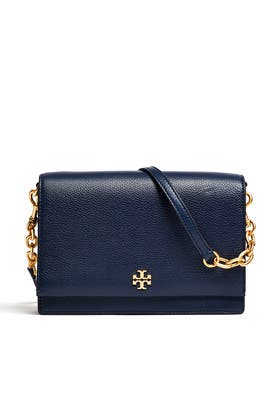 Navy Georgia Crossbody by Tory Burch Accessories