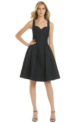 Carolina Herrera - Navy Metropolitan Club Dress