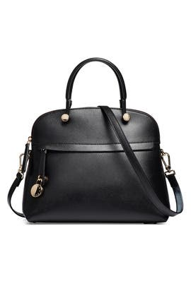 Black Piper Dome Bag by Furla