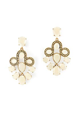 Empress Chandelier Earrings by Oscar de la Renta