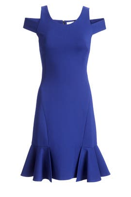 Off Cobalt Dress by Rebecca Taylor