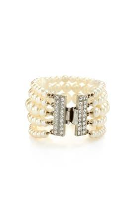 Ben-Amun - Pearl Lines Bracelet