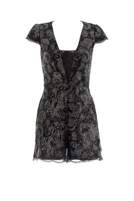 Corinne Romper by Badgley Mischka