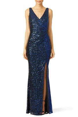 Ombre Astor Gown by Badgley Mischka
