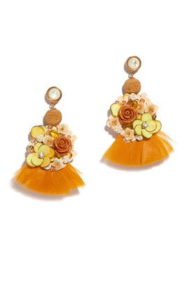 French Marigold Earrings by Lizzie Fortunato
