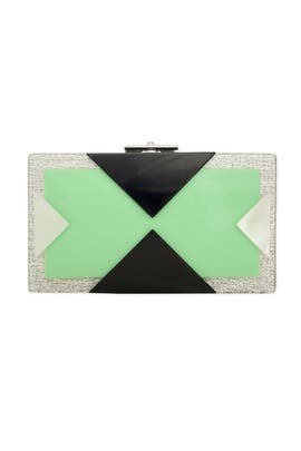Rafé - Alicia Mint Box Clutch