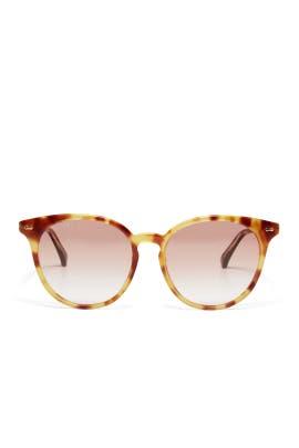 Orange Gradient Sunglasses by Gucci