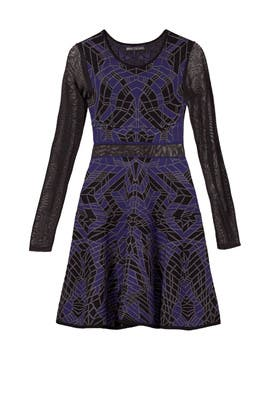 Woodblock Dress by RVN