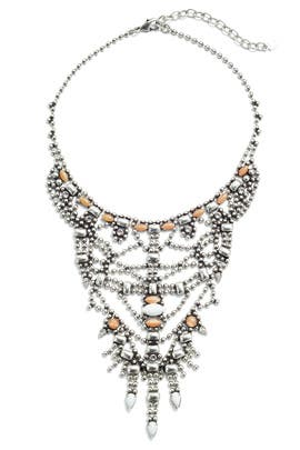 Malin Crystal Statement Necklace by Dannijo