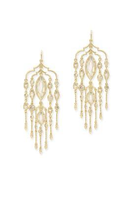 Gold Emma Duster Earrings by Kendra Scott