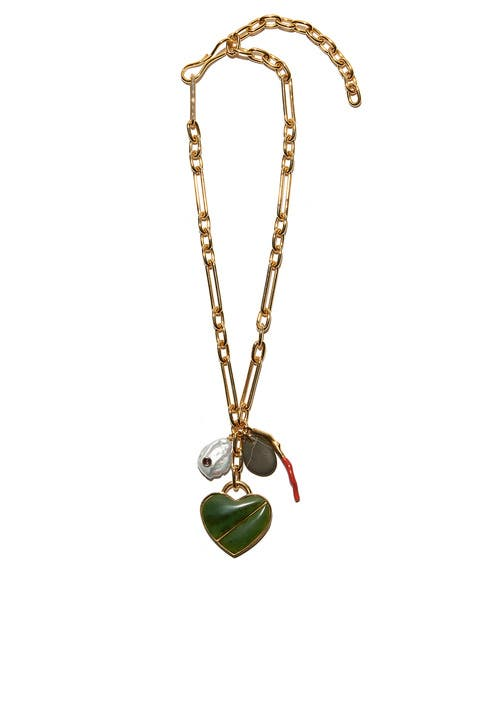 63847f32fc8871 Venice Heart Necklace by Lizzie Fortunato for $60 | Rent the Runway